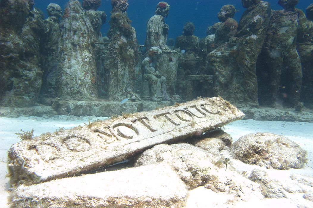 The Underwater Statues Have a Deeper Meaning